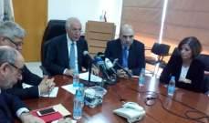 زعيتر اعلن نتائج دراسة تقييم المخاطر الزراعية في لبنان للحد من مخاطر الكوارث