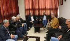 سفير فلسطين التقى لجنة التعبئة والتنظيم وقيادة حركة فتح في بيروت