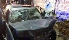 النشرة: 4 جرحى في حادث سير بالقرب من ساحة الشهداء في صيدا