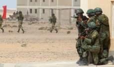 رئيس الأركان المصري محمد فريد يتفقد القوات في سيناء