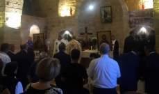رئيس دير مار الياس رشميا يناشد المساهمة في اعادة إعمار الدير