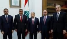 الرئيس عون يعرب عن امتنانه للدعم الذي تقدمه دولة الكويت للبنان وشعبه
