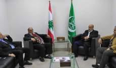 مسؤول الجماعة الاسلامية بالجنوب التقى وفداً من الجبهة الديمقراطية