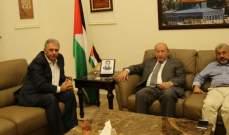 دبور عرض أوضاع  المخيمات واللاجئين الفلسطينيينمع المدير العام للأونروا