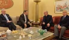 رئيس المنظمة البرلمانية الأرثوذكسية: نشدد على سيادة سوريا ولبنان