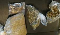 توقيف أشخاص في حملة دهم في الهرمل ومصادرة كميات من المخدرات وحبوب الكبتاغون والهيرويين