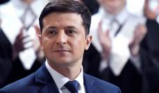 زيلينسكي للأوكرانيين: فعلناها سوية ولن أخيب ظنكم أبدا