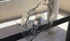النشرة: رصاص القنص بعين الحلوة يصيب منزل النائب الراحل مصطفى سعد