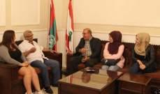 سعد أسف لكون الدولة اللبنانية لا تنظر إلى المخيمات إلا نظرة أمنية ضيقة