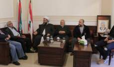 النائب سعد عرض الأوضاع العامة مع الشيخ العيلاني