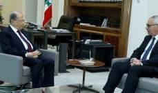 الرئيس عون عرض مع القاضي جان فهد مسار العمل في المحاكم