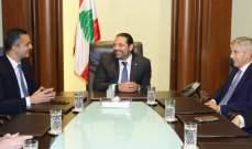"""الحريري ناقش استثمارات مجموعة """"ماجد الفطيم"""" في لبنان"""