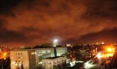النشرة: سماع دوي انفجارات في غرب دمشق
