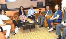 رئيس ديوان المحاسبة عرض مع مؤسسة سيغما تعزيز التعاون: لتطوير الأجهزة الرقابية
