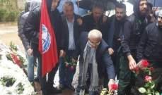 سعد زار ضريح كمال جنبلاط: لاتباع نهجه وبرنامجه للإصلاح السياسي
