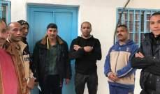 إعتصام أمام مكتب الأونروا في مخيم البرج الشمالي للمطالبة بالعمل