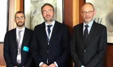 رئيس جهاز العلاقات الخارجية في القوات يلتقي مسؤولين أوروبيين بجولة الى بروكسيل