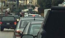 النشرة: سقوط قوارير مياه من شاحنة على طريق جعيتا والاضرار مادية