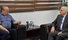 وهاب بعد لقائه جبق: نطالب برفع موازنة وزارة الصحة