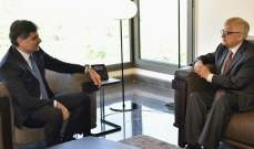 رئيس جامعة البلمند التقى السفير الروسي