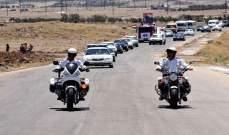إعادة افتتاح طريق حمص مصياف القديم أمام حركة النقل للعموم بعد توقف 6 سنوات