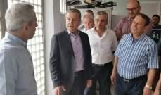 درغام تفقد سراي حلبا: للاسراع بتطبيق المراسيم الاجرائية