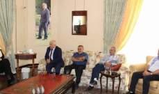 بهية الحريري استقبلت نقابة عمال ومستخدمي كهرباء لبنان