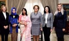 السيدة عون: لأهمية ترسيخ الثقافة الوطنية لدى الجيل الصاعد