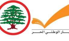مصادر الشرق الاوسط: المصالحة بين القوات والتيار غير قابلة للنقاش