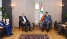 اللواء عثمان استقبل وفداً قيادياً من حماس ورئيس النادي الرياضي لكرة السلة