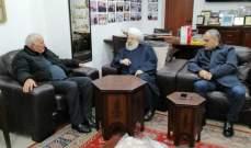 حمود عرض مع أبو عرب أوضاع الفلسطينيين في لبنان