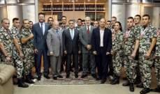 ابراهيم بتكريم فريق الامن العام للألعاب القتالية:استخدموا القوة دفاعا عن المواطنين