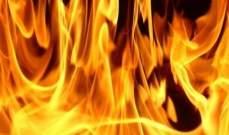 الدفاع المدني: إخماد حريق أعشاب يابسة ونفايات في عجلتون