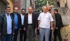 النشرة: وفد من حماس زار مخيم المية ومية