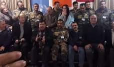 الكتيبة الهندية تكرّم مندوبي وسائل الاعلام في منطقتي حاصبيا ومرجعيون