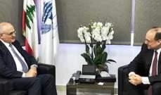 خليل التقى مساعد وزير الخزانة الأميركية وأكدا ضرورة وجود حكومة