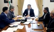 شبيب عقد اجتماع عمل للبدء بتنفيذ التعميم الصادر عن الحسن حول الأكشاك