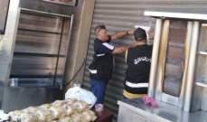 إقفال مسلخ ومطعمين في العاقبية يشغلها سوريون لمخالفتهم نظام الإقامة والعمل
