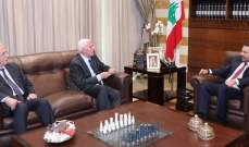 الأحمد زار الحريري: موقف لبنان وفلسطين ثابت في رفض صفقة القرن