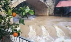 النشرة: طقس عاصف وماطر يخيم على منطقة حاصبيا