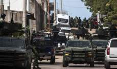 توقيف 60 شخصا خلال عملية عسكرية في المكسيك