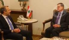 OTV: ساترفيلد أخذ الجواب اللبناني مختصرا بالموقف الثابت المتمسك بمساري الترسيم برا وبحرا