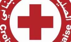 الصليب الأحمر: قتيل و 5 جرحى سقوط صخرة على سطح منزل في الناعمة