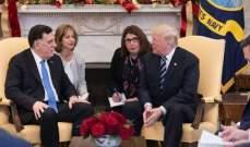 البيت الأبيض:ترامب بحث مع السراج مكافحة الإرهاب وتعزيز الاستقراربليبيا