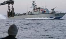 البحرية الإسرائيلية تعتقل 3 صيادين فلسطينيين قبالة شواطئ غزة