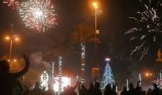 إصابة 250 مواطنا خلال احتفالات رأس السنة في بغداد