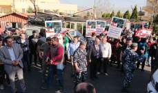 النشرة: قطع طريق بعلبك عند مفرق بريتال مطالبة بالعفو العام قبل الانتخابات
