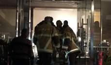 الدفاع المدني: إخماد حريق شب داخل مستودع مطعم على اوتوستراد زحلة