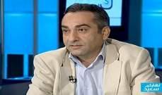 الأخبار عن مصادر الأمن العام: نبيل الحلبي لم يشارك بمفاوضات ملف العسكريين المخطوفين