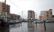 النشرة: تساقط امطار غزيرة وانخفاض بدرجات الحرارة في النبطية